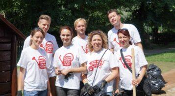 Naši dobrovoľníci pomáhajú komunite